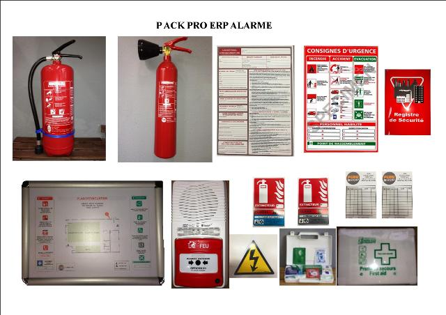 PACK PRO ERP ALARME